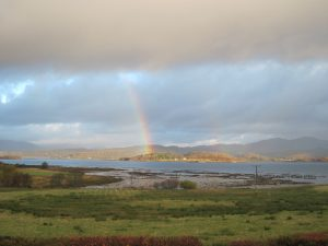 Rainbow over Loch Creran