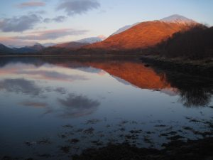 Walking Loch Creran