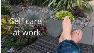 Self care at work